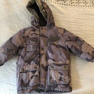 Oshkosh winter camouflage jacket